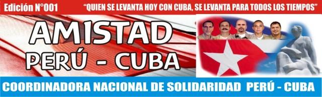 AMISTAD PERU CUBA